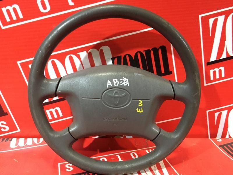 Руль Toyota Ipsum SXM10 3S-FE 1996 коричневый