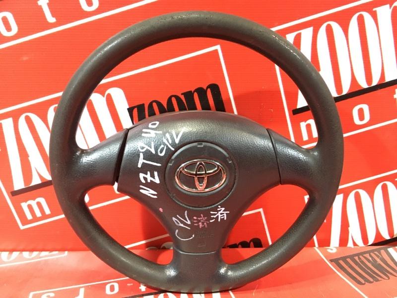 Руль Toyota Allion NZT240 1NZ-FE 2001 черный