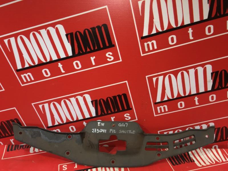 Накладка на решетку радиатора Honda Fit Shuttle GG7 L15A 2011 передняя
