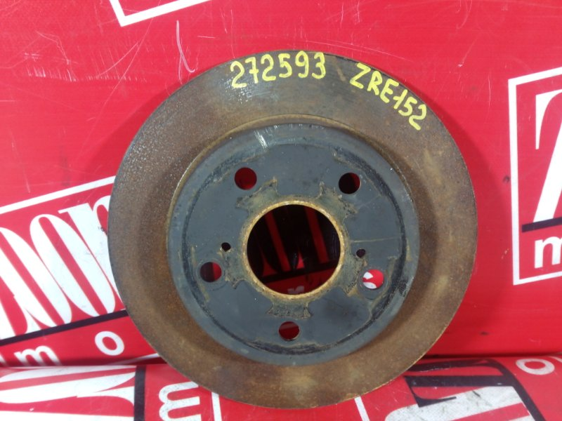 Диск тормозной Toyota Auris ZRE152 2ZR-FAE 2006 задний