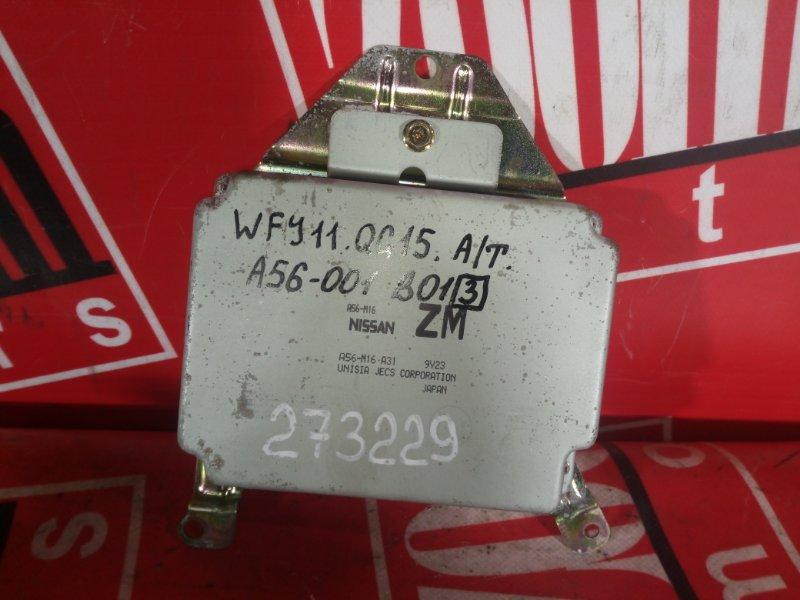 Компьютер (блок управления) Nissan Ad WFY11 QG15DE 1999