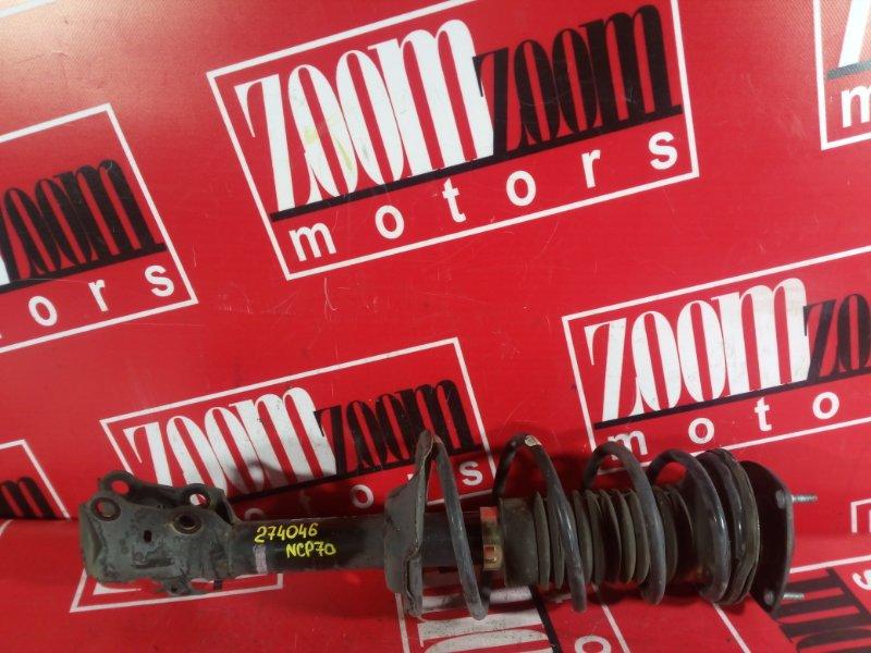 Стойка подвески Toyota Will Cypha NCP70 1NZ-FE 2002 передняя правая