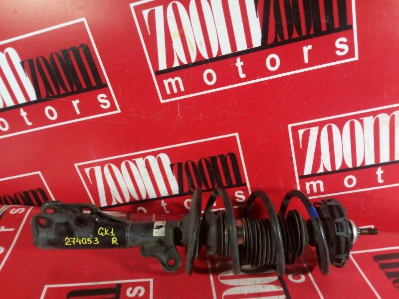 Стойка подвески Honda Mobilio Spike GK1 L15A 2002 передняя правая