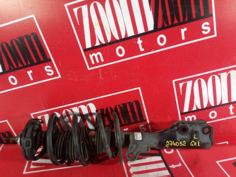 Стойка подвески Honda Mobilio Spike GK1 L15A 2002 передняя левая