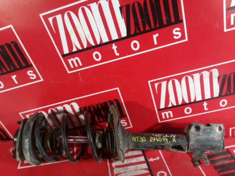 Стойка подвески Nissan X-Trail NT30 QR20DE 2000 задняя правая
