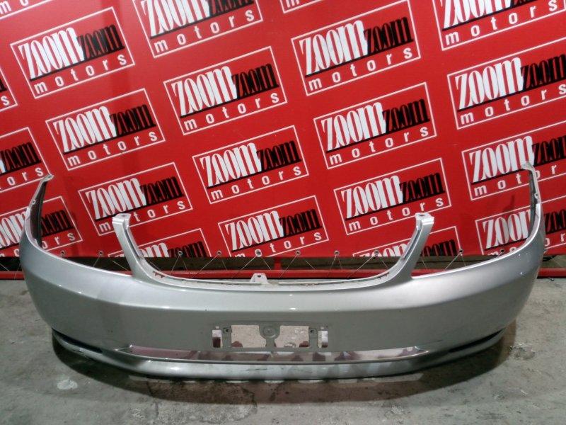 Бампер Toyota Allex NZE121 1NZ-FE 2000 передний серебро