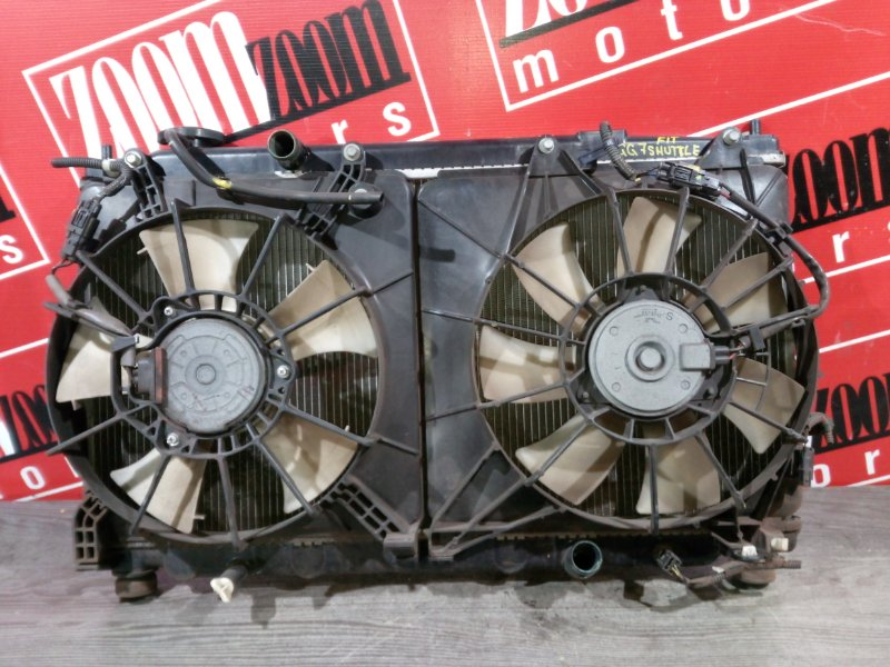 Радиатор двигателя Honda Fit Shuttle GG7 L15A 2011 передний