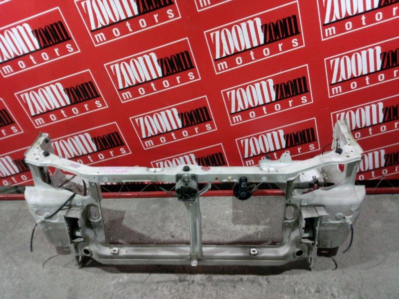 Рамка радиатора Suzuki Cultus GC21W G15A 1999 передняя белый