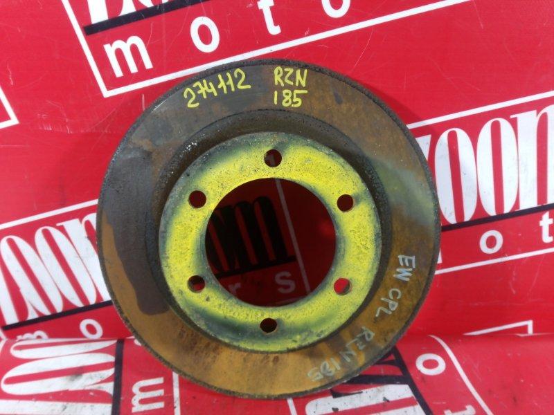 Диск тормозной Toyota Hilux Surf RZN185 3RZ-FE 1995 передний