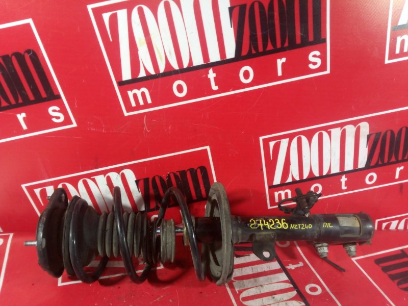 Стойка подвески Toyota Allion NZT240 1NZ-FE 2000 передняя левая