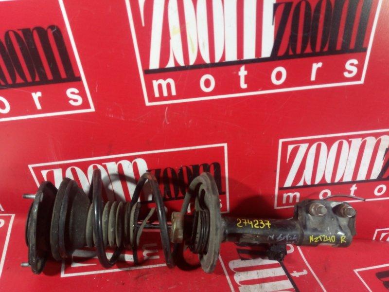 Стойка подвески Toyota Allion NZT240 1NZ-FE 2000 передняя правая