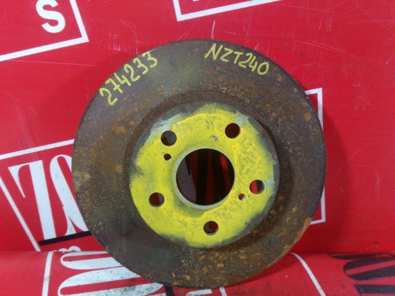 Диск тормозной Toyota Allion NZT240 1NZ-FE 2000 передний