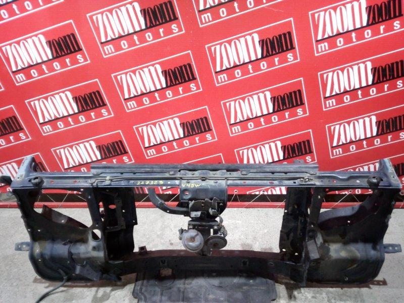 Рамка радиатора Mitsubishi Pajero V45W 6G74 1997 передняя синий