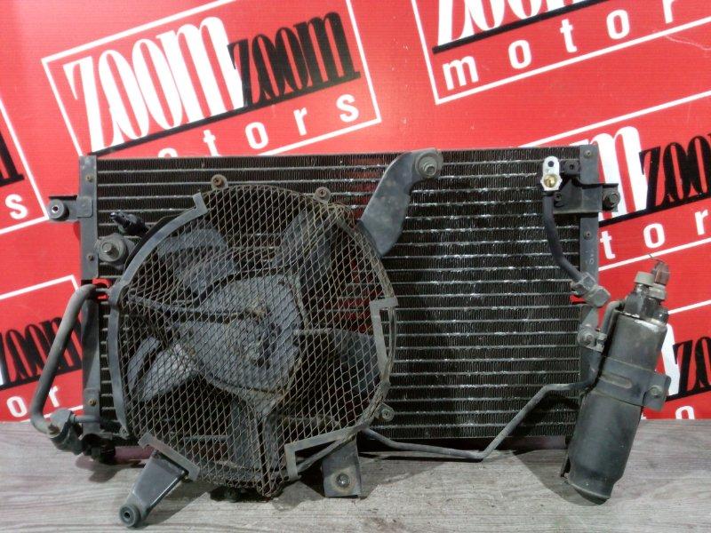 Радиатор кондиционера Mitsubishi Pajero V45W 6G74 1997 передний
