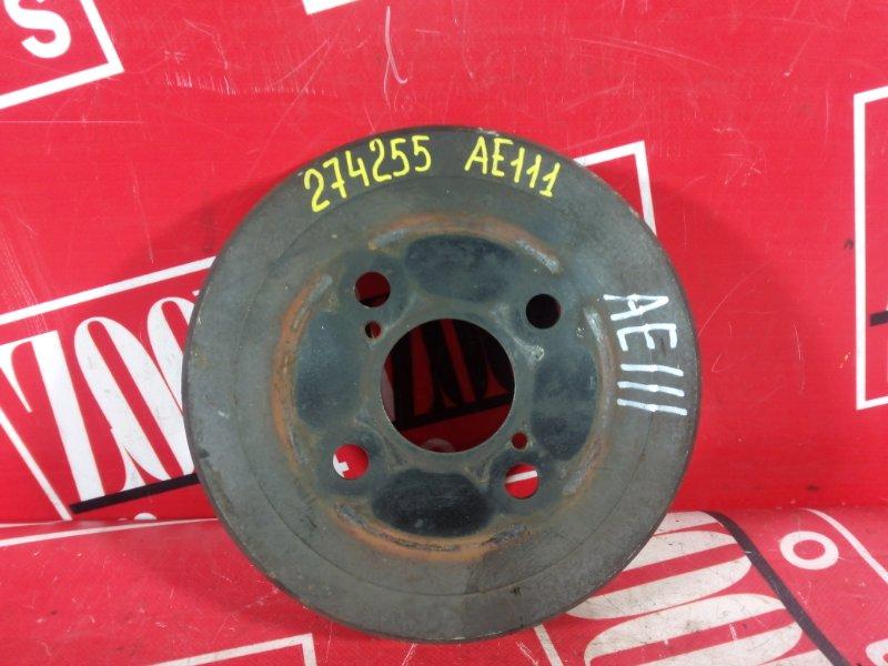 Барабан тормозной Toyota Sprinter Carib AE111 4A-FE 1997 задний
