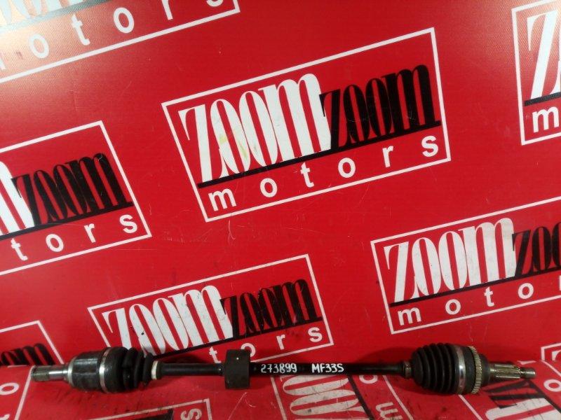 Привод Suzuki Mr Wagon MF33S R06A 2013 передний правый