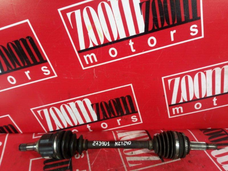 Привод Toyota Allion NZT240 1NZ-FE 2000 передний левый