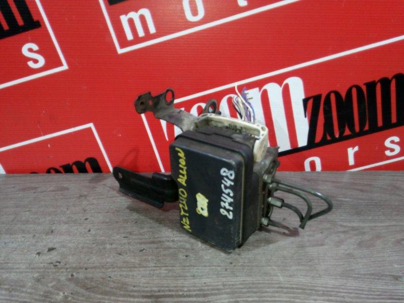 Блок управления abs Toyota Allion NZT240 1NZ-FE 2001 44510-20350, 89541-20230