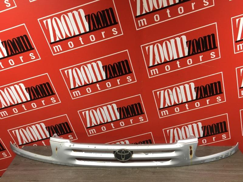 Планка под фару Toyota Raum EXZ10 5E-FE 1997 передняя серебро