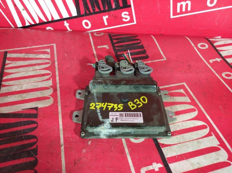 Компьютер (блок управления) Nissan Lafesta B30 MR20DE 2004 A56-Z44 U2A 5Z14