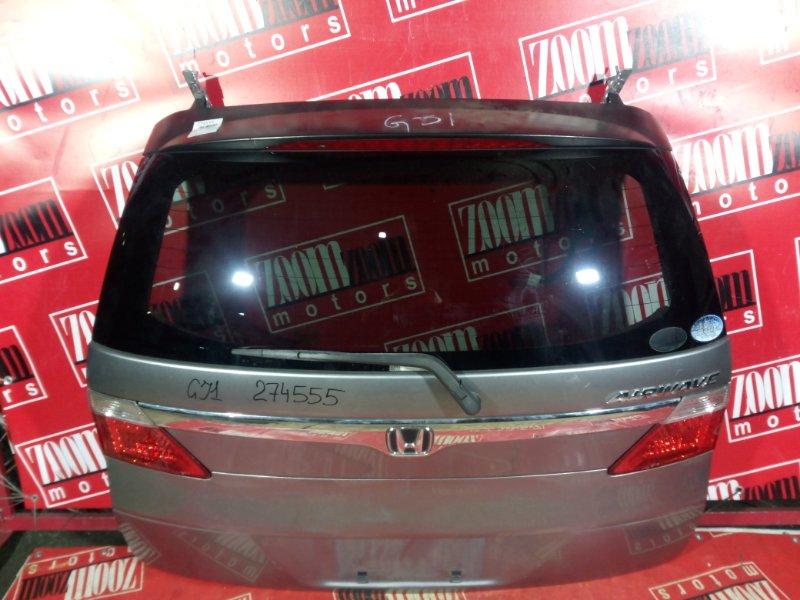 Дверь задняя багажника Honda Airwave GJ1 L15A 2005 задняя серый