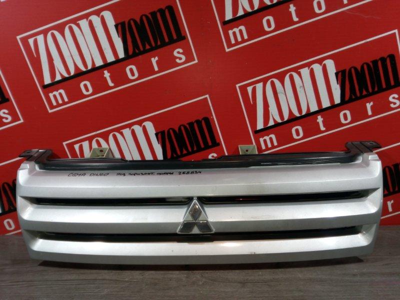 Решетка радиатора Mitsubishi Dingo CQ1A 4G15 2001 передняя серебро