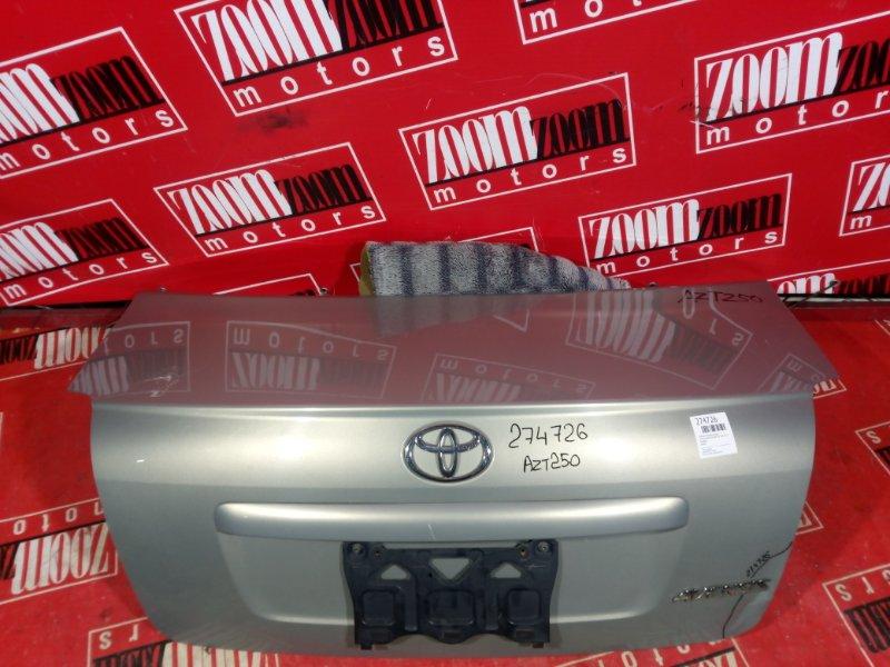 Крышка багажника Toyota Avensis AZT250 1AZ-FSE 2001 задняя серебро