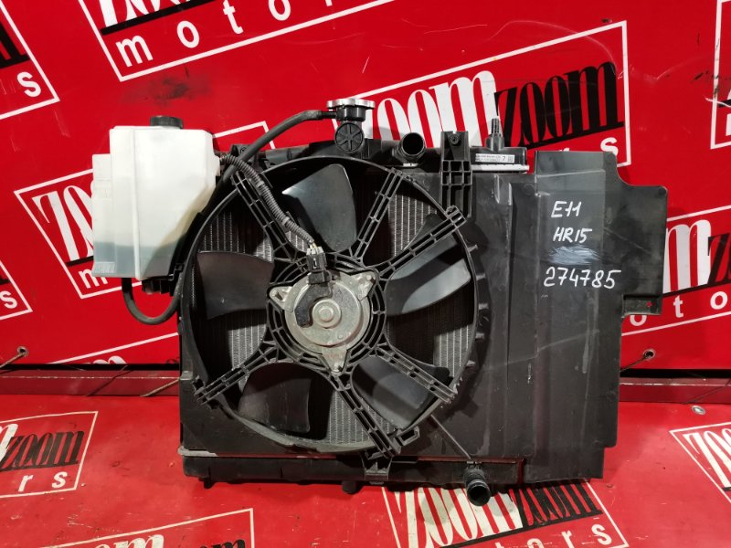 Радиатор двигателя Nissan Note E11 HR15DE 2008
