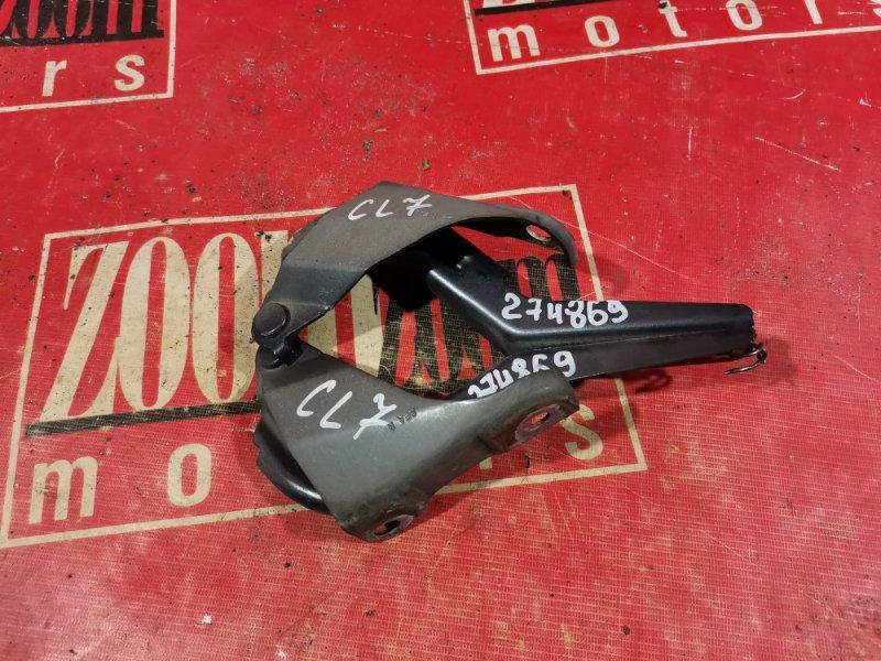 Кронштейн капота Honda Accord CL7 K20A 2002 передний серебро