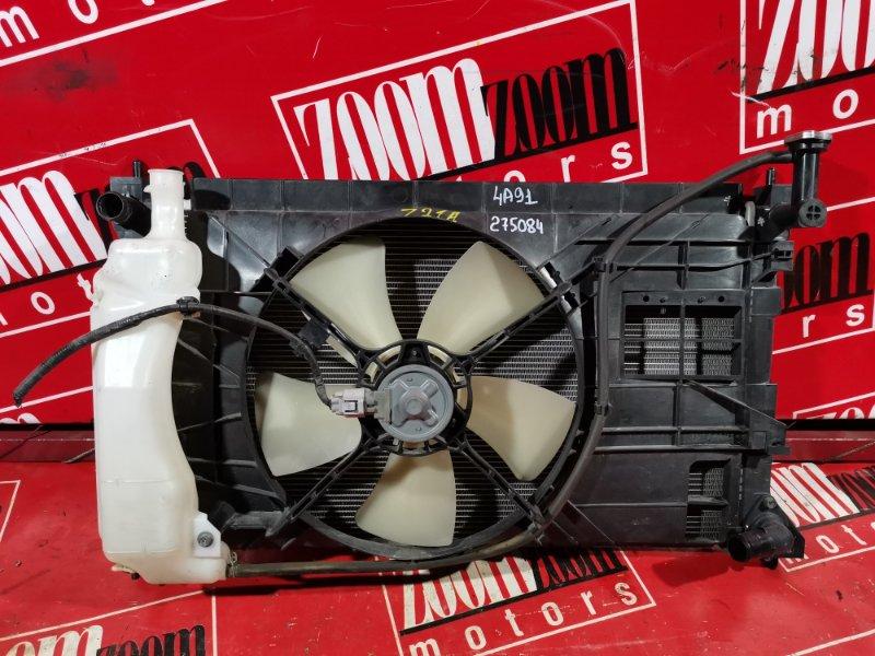 Радиатор двигателя Mitsubishi Colt Z25A 4A91 2002