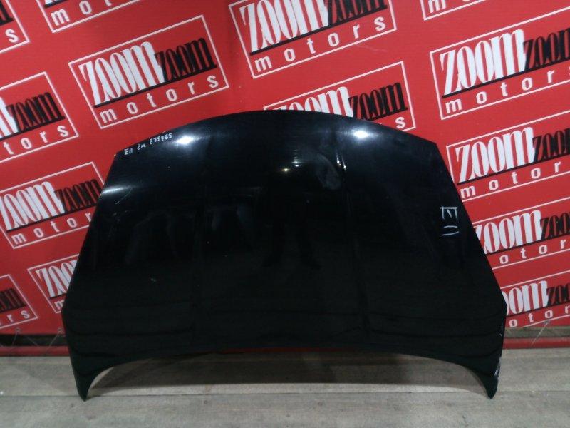 Капот Nissan Note E11 HR15DE 2008 передний черный