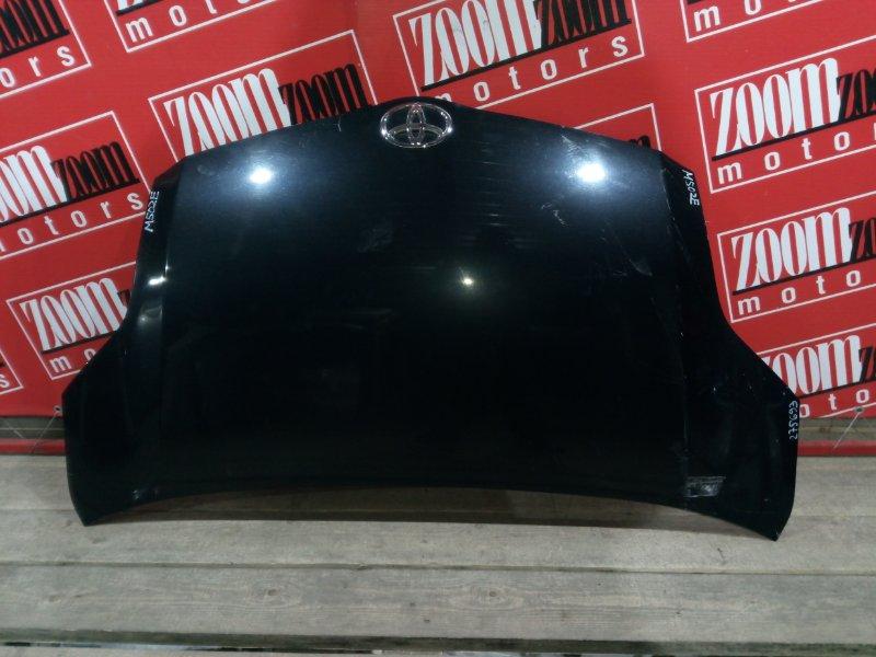 Капот Toyota Passo Sette M502E 3SZ-VE 2008 передний черный