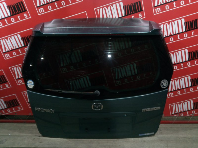 Дверь задняя багажника Mazda Premacy CP8W FP-DE 1998 задняя бирюзовый