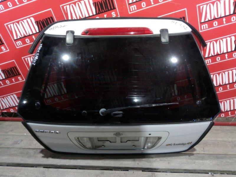 Дверь задняя багажника Nissan Cefiro WPA32 VQ25DE 1997 задняя белый перламутр