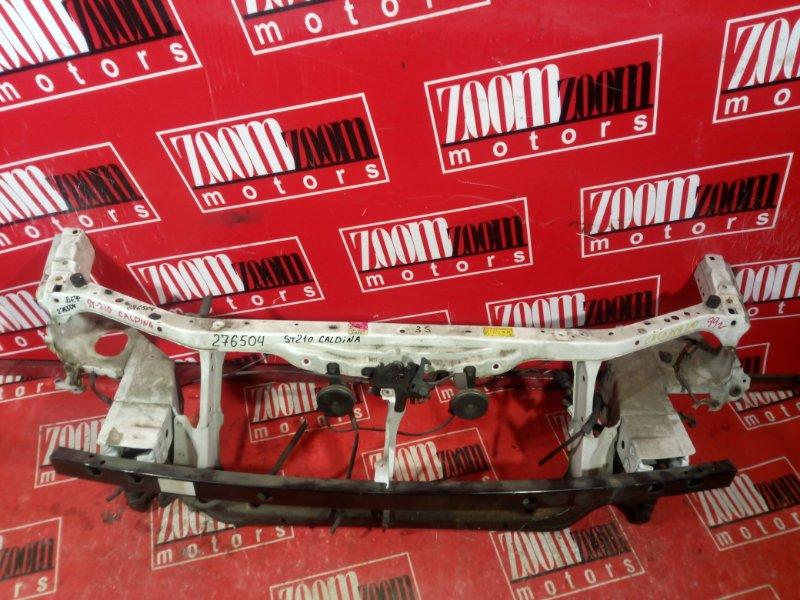 Рамка радиатора Toyota Caldina AT210 7A-FE 1998 передняя белый
