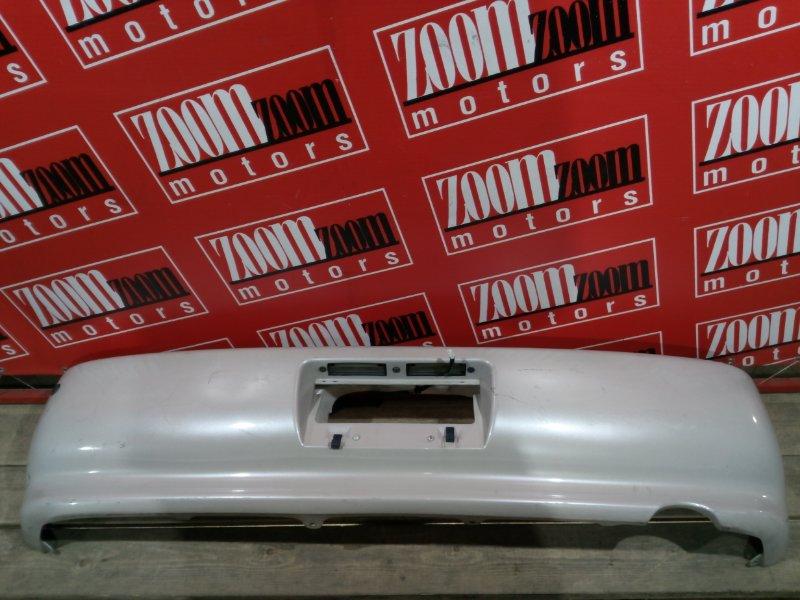 Бампер Toyota Chaser GX90 1G-FE 1992 задний бежевый
