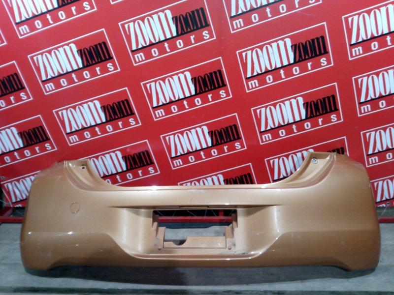 Бампер Toyota Passo KGC30 1KR-FE 2010 задний оранжевый