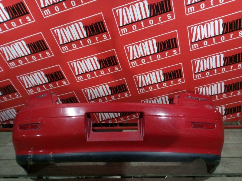 Бампер Mitsubishi Airtrek CU2W 4G63 2001 задний красный