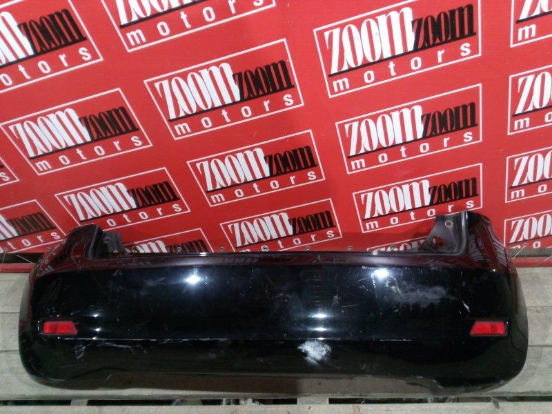 Бампер Nissan Note E11 HR15DE 2004 задний черный