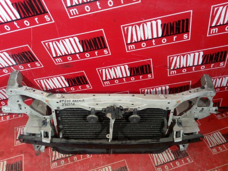 Рамка радиатора Toyota Corona Premio AT210 7A-FE 2001 передняя белый