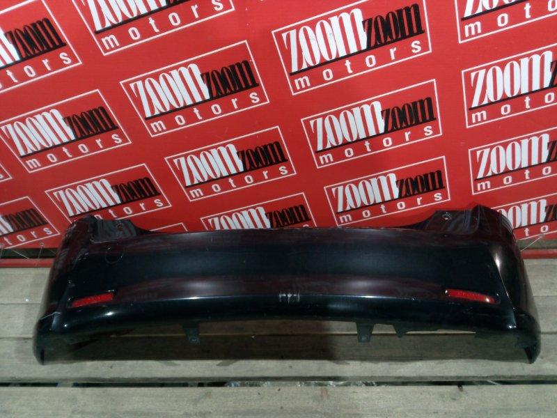 Бампер Toyota Passo Sette M502E 3SZ-VE 2008 задний черный
