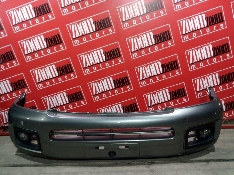 Бампер Nissan Caravan VPE25 KA20DE 2001 передний серый