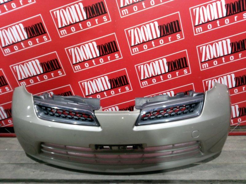 Бампер Nissan March AK12 CR12DE 2002 передний золото