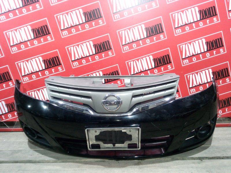 Бампер Nissan Note E11 HR15DE 2004 передний черный
