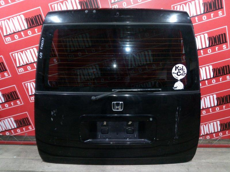 Дверь задняя багажника Honda Stepwgn RF1 B20B 1996 задняя черный