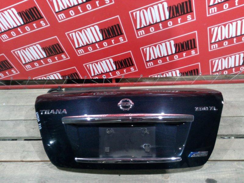 Крышка багажника Nissan Teana J32 VQ25DE 2008 задняя синий