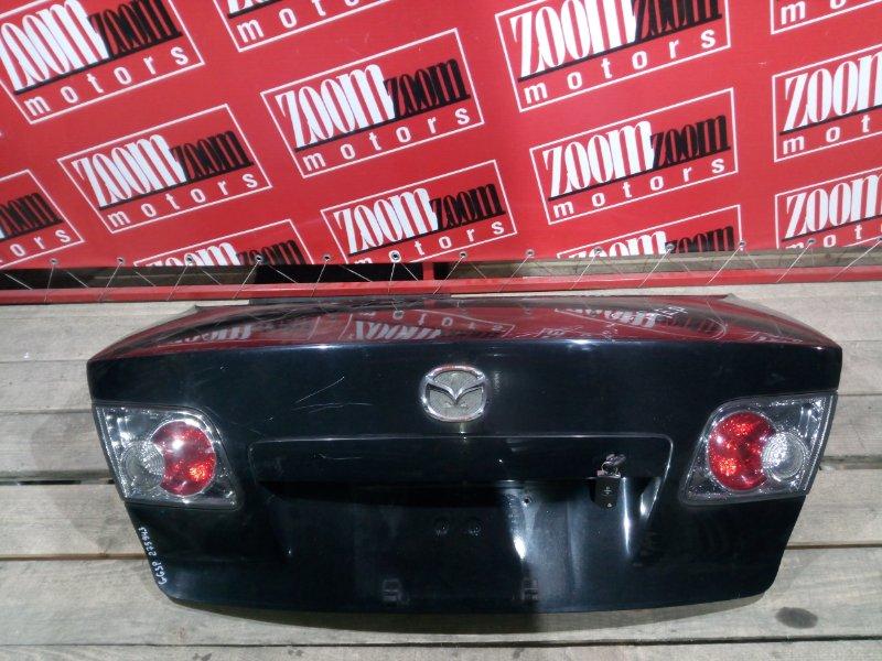 Крышка багажника Mazda Atenza GG3P L3-DE 2002 задняя черный