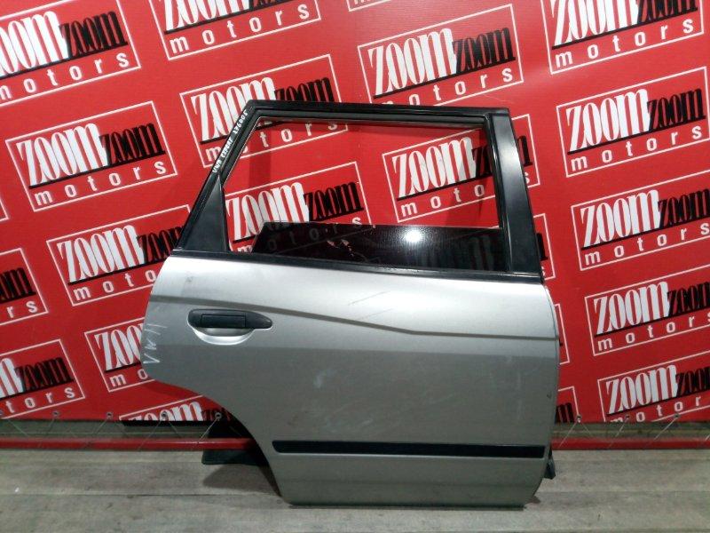 Дверь боковая Nissan Expert VW11 QG18DE 1999 задняя правая серебро