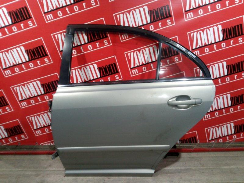 Дверь боковая Toyota Avensis AZT250 1AZ-FSE 2003 задняя левая золото