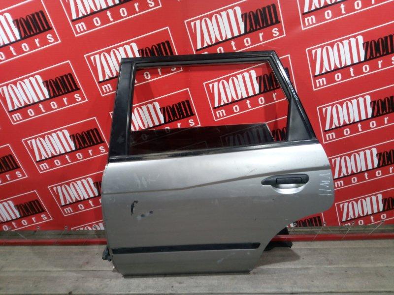Дверь боковая Nissan Expert VW11 QG18DE 1999 задняя левая серебро
